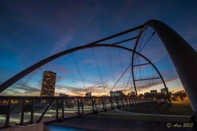 Bill Coats bike bridge