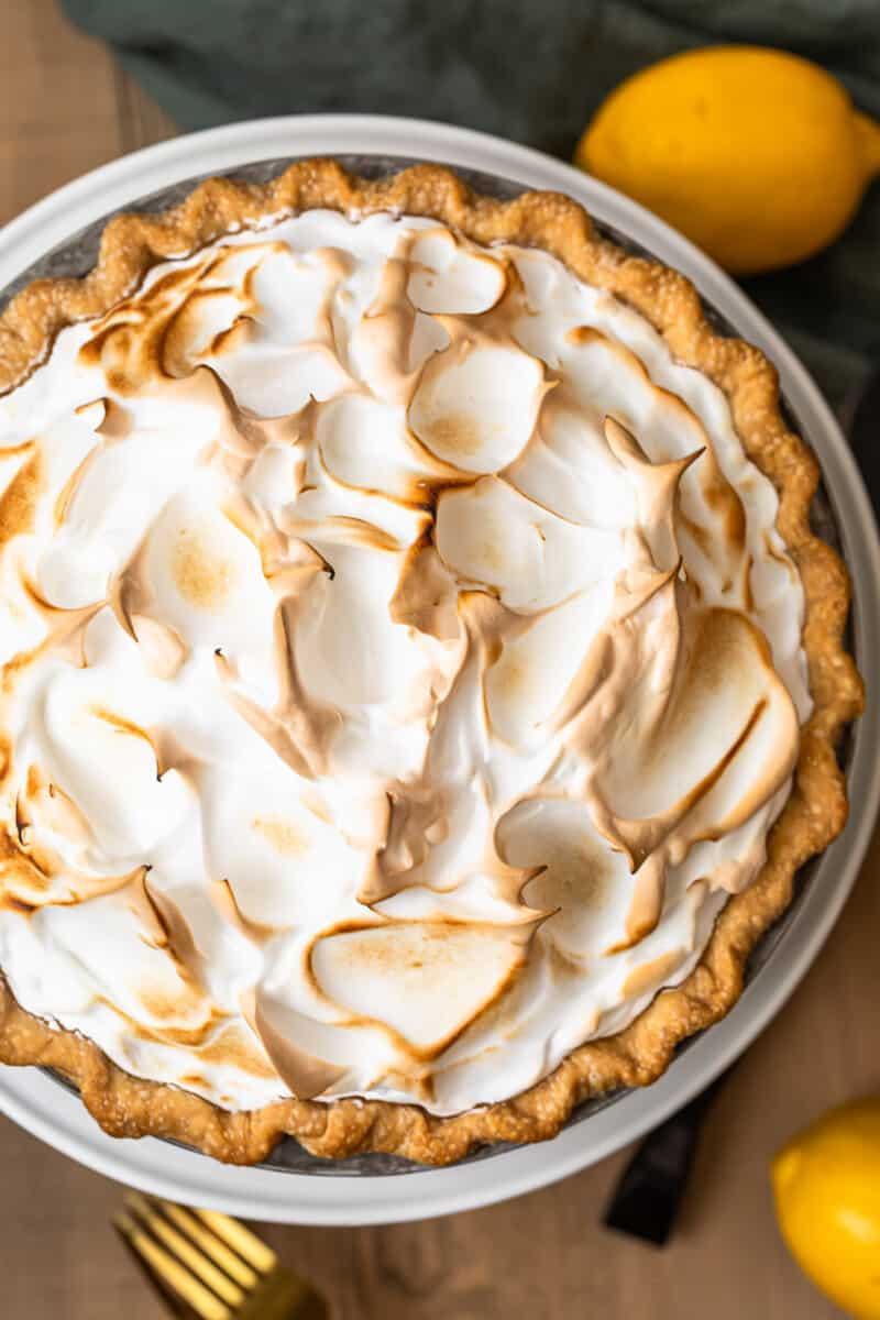 Jello Lemon Meringue Pie Recipe : jello, lemon, meringue, recipe, Lemon, Meringue, (Make, Ahead!), Cookie, Rookie®