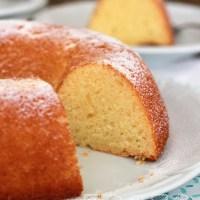 Gâteau aux amandes - bolo marzipan