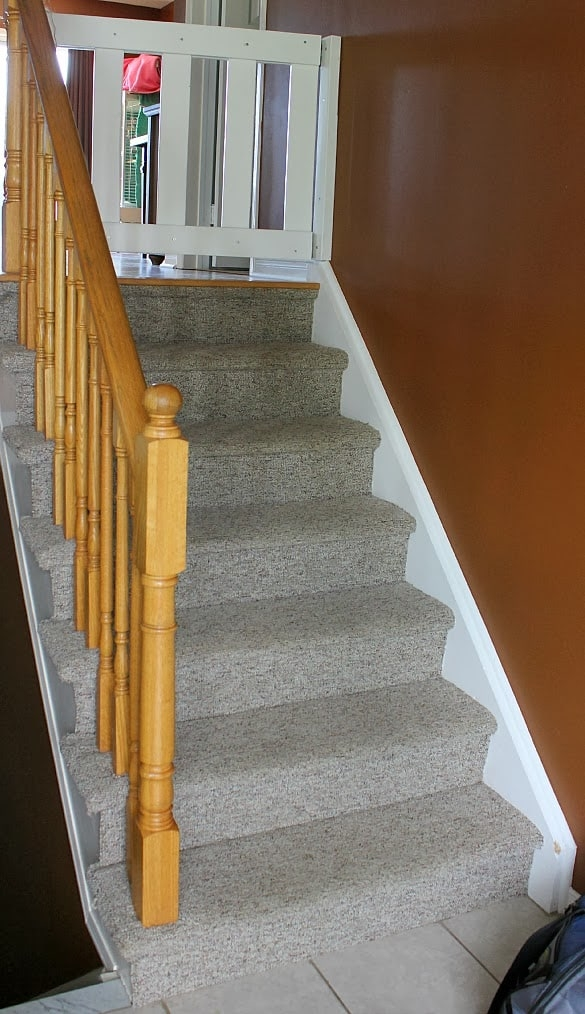 Stairway Remodel Part 1 Ripping Out Old Carpet And Finding | Carpet For Stairs Near Me | Hardwood | Wood | Wall Carpet | Carpet Workroom | Runner