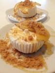 Honey-Drizzled Baked Banana Cheesecake