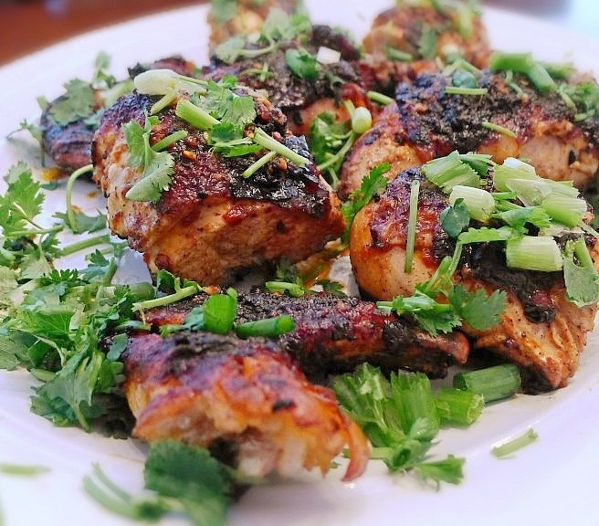 Spatchcock Chicken with Chili Garlic Butter