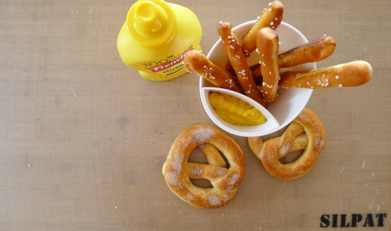Soft and Chewy Pretzels