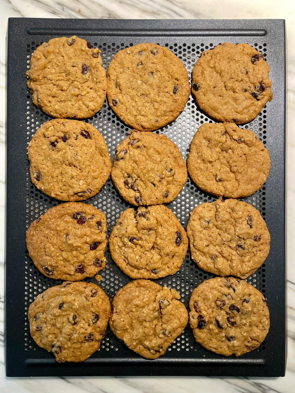 Bakery Style Oatmeal Raisin Cookies
