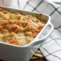 Creamy Cauliflower Au Gratin