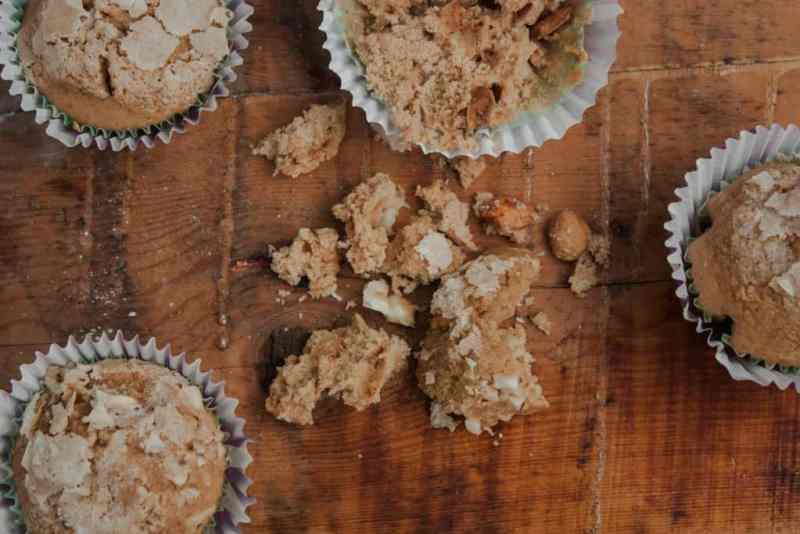 Receta de muffins de nutella
