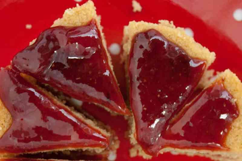receta tarta de fresa facil