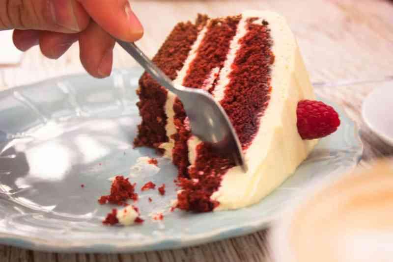 Red velvet sin gluten de Milola bakery