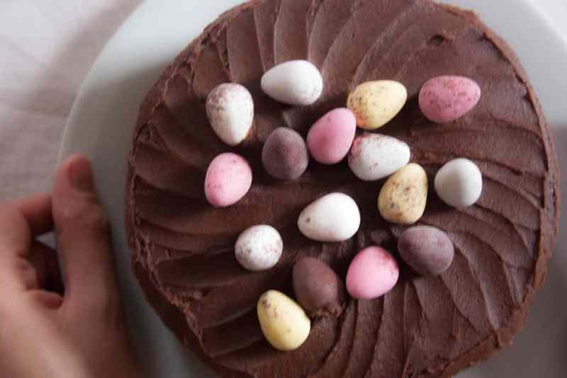 Receta Mona de Pascua chocolate