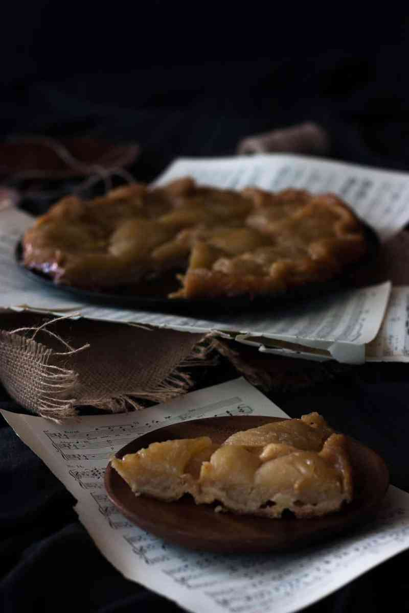 como hacer tarta tatin de manzana