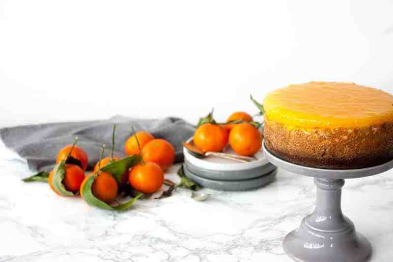 cheesecake de mandarina receta