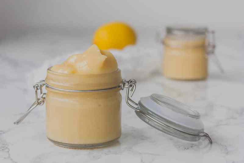 crema de limon receta