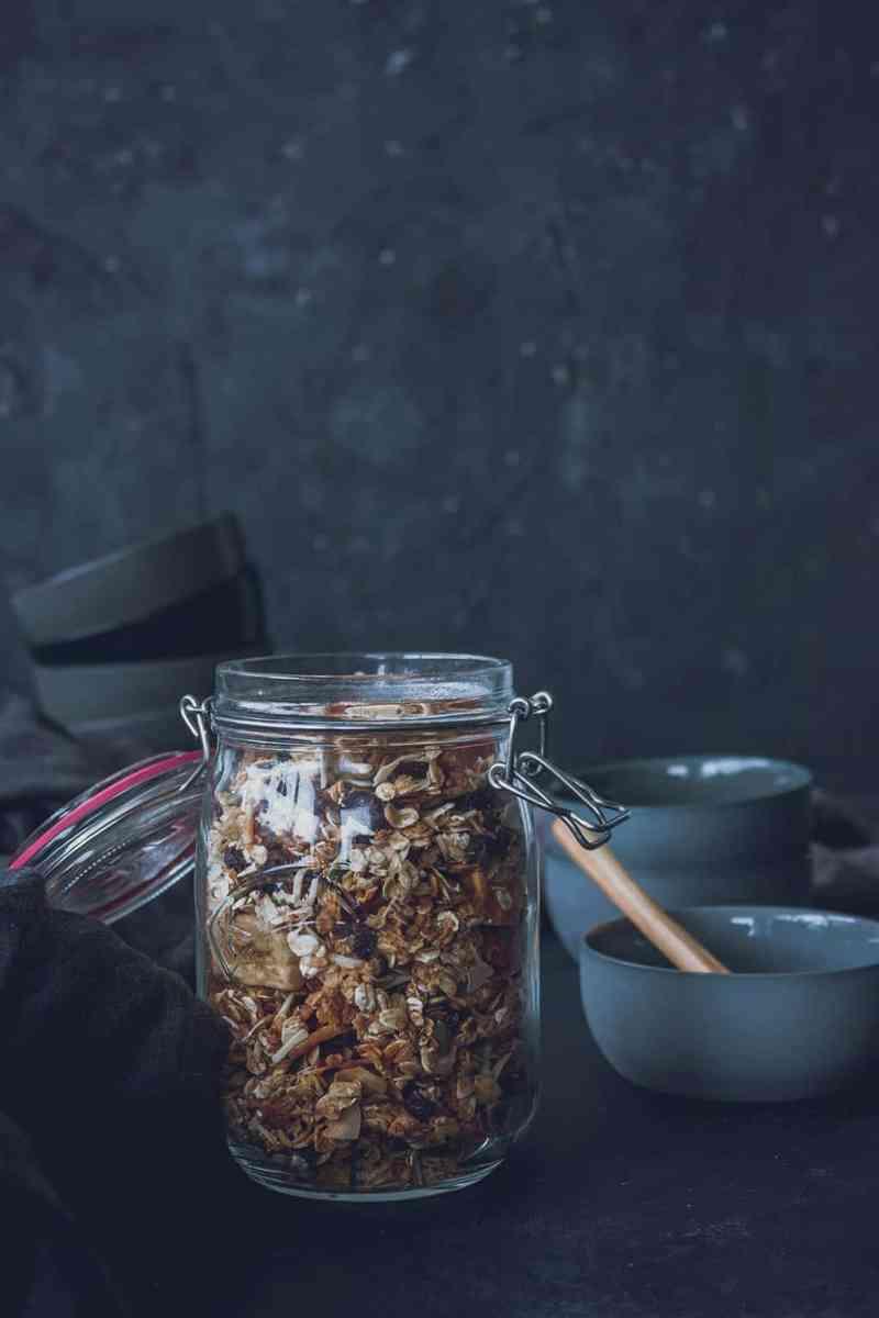 granola casera facil