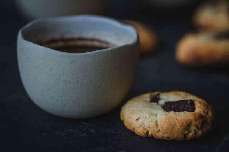 receta cookies chocolate y anacardos