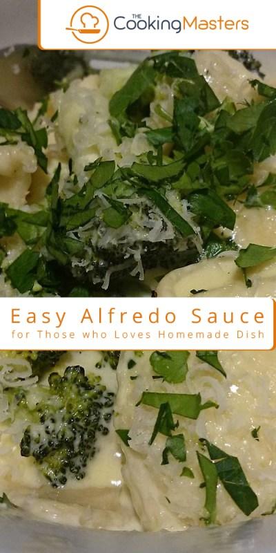 Easy Alfredo sauce