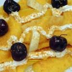 mango tropical dessert
