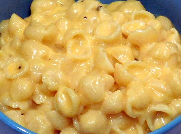 Cheesy Macaroni Shells Recipe