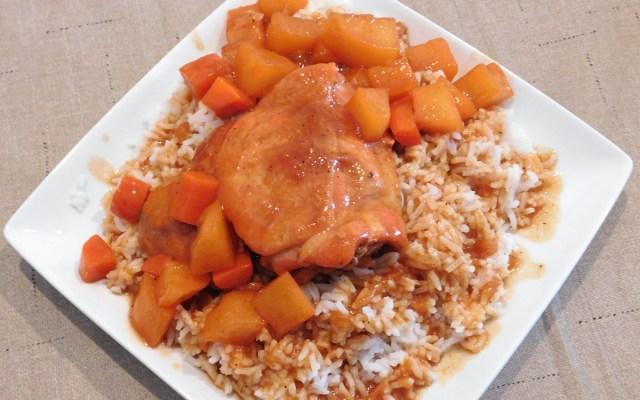 chicken afritada recipe with white rice