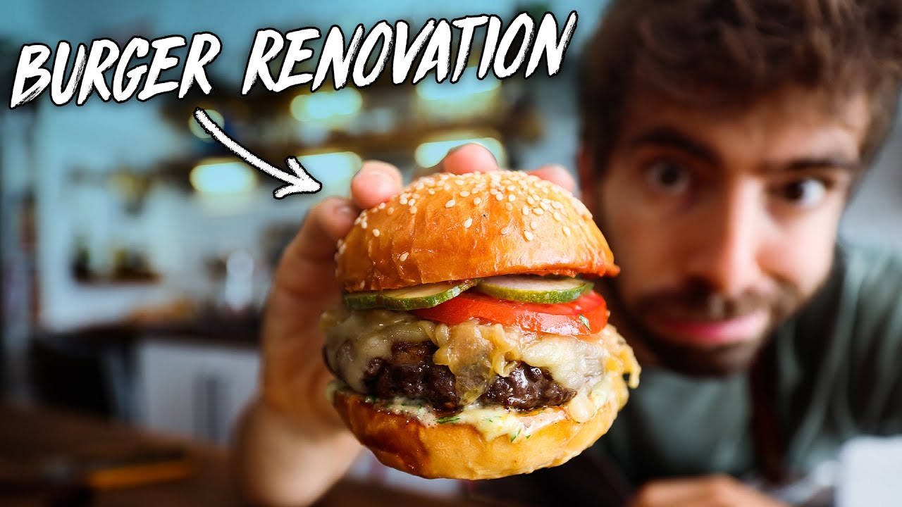 """My """"Once a Year"""" Burger Recipe"""