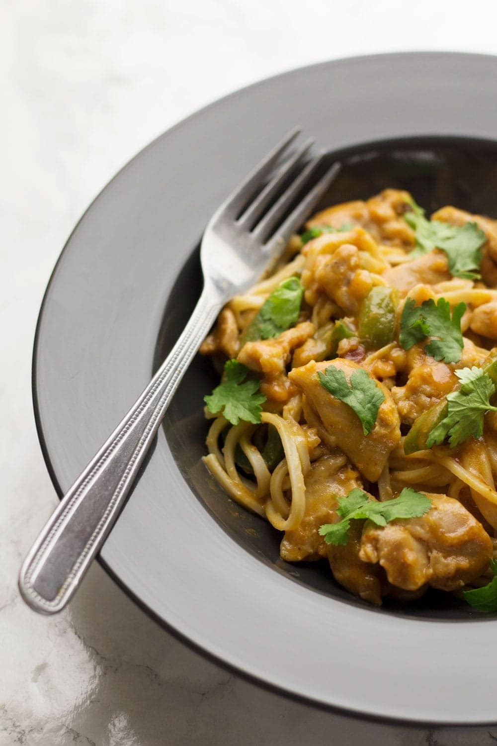 This peanut chicken is a quick weeknight recipe that tastes amazing. Serve over rice or noodles for an easy family dinner.