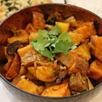 Sweet Potato and Aubergine Curry