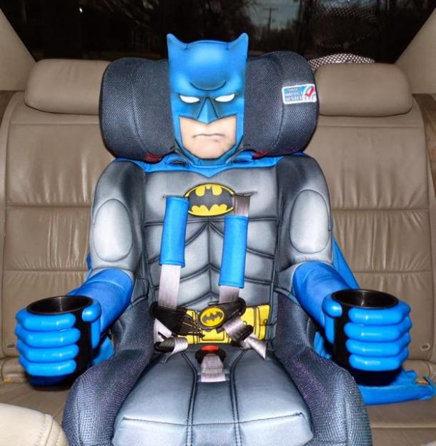 batman car chair mid century modern dining chairs set of 4 seat the coolest stuff ever