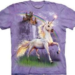 Adult Gaming Chair Tolix Cushion Majestic Rainbow Unicorn T-shirt | The Coolest Stuff Ever