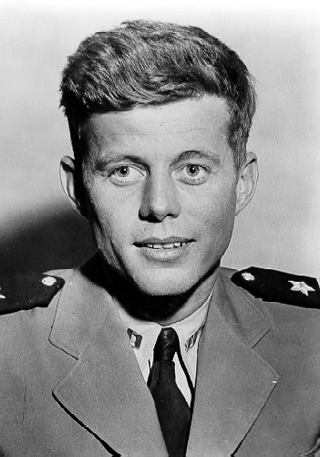 young-jfk-in-navy-uniform