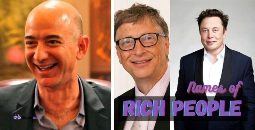 Rich People Last Names
