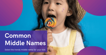 Common Middle Names