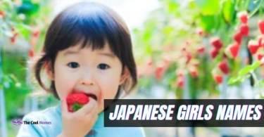 Japanese Girl Names