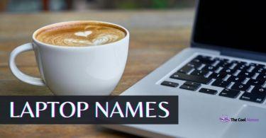Laptop Names