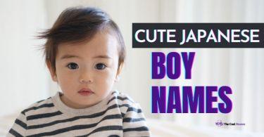 Japanese Boy Names