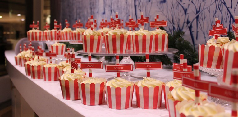 49-#onthelist north pole cupcakes