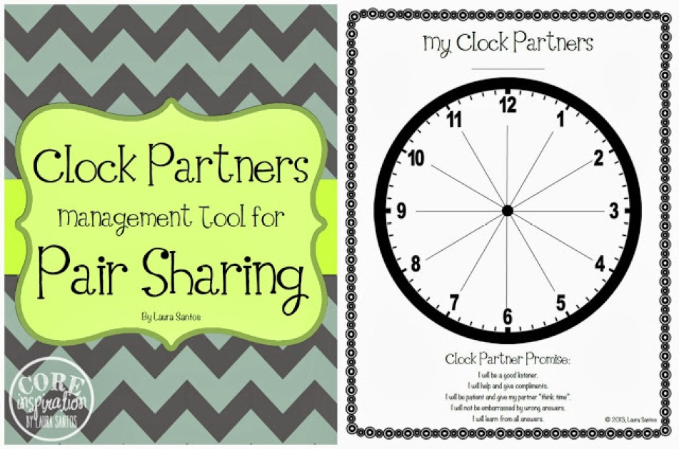 Clock Partners Management Tool for Pair Sharing