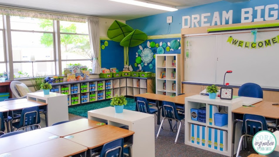 Classroom Design Inspiration ~ Core inspiration classroom reveal gt second grade