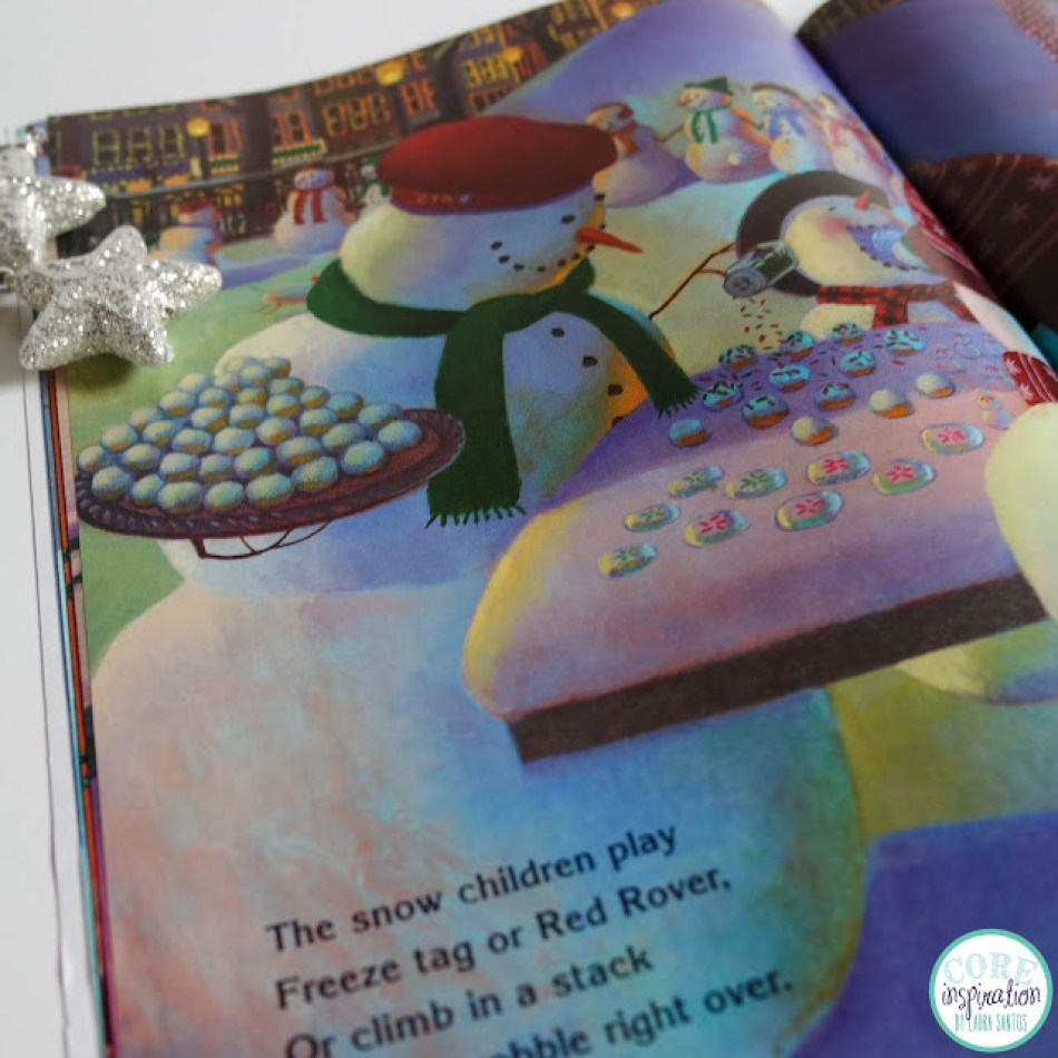 A peek inside the book Snowmen at Christmas