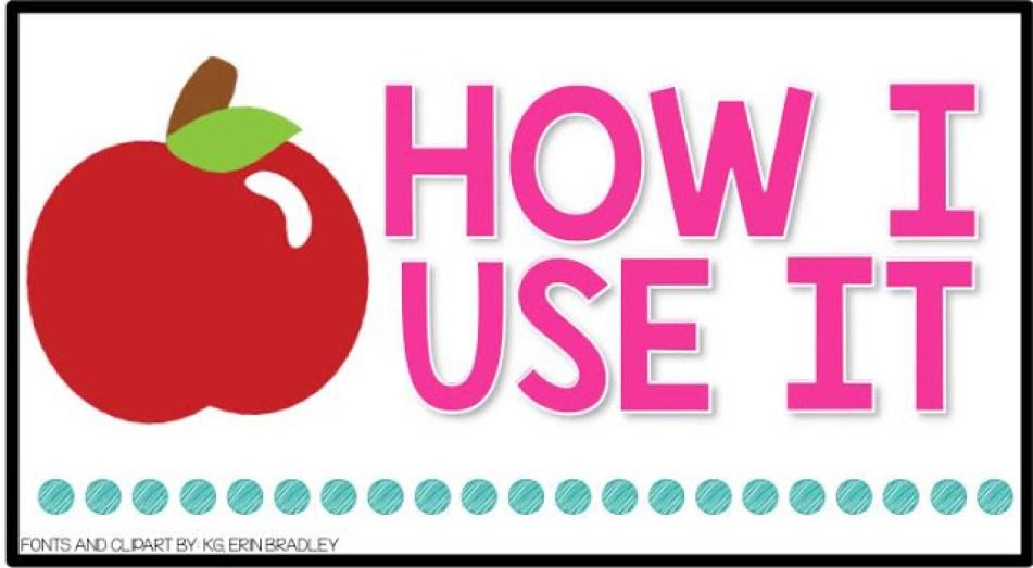Books Teachers Love: How I Use My Book Section Header