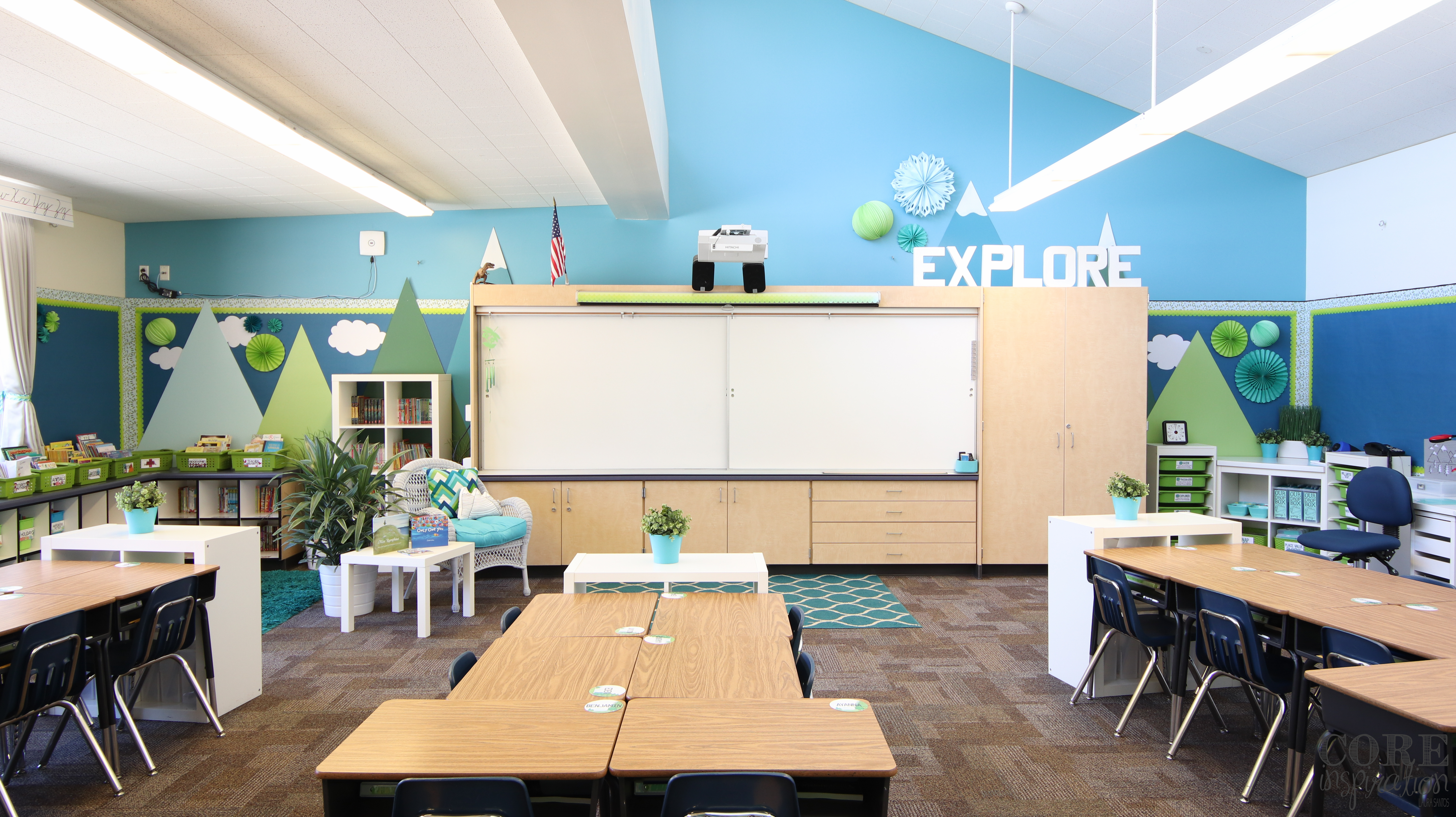 Classroom Design Inspiration ~ Core inspiration helping teachers transform their