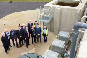 File photo of a previous opening: Pictured at the opening of the Irish Water treatment plant at Riverstick, Co. Cork. Included are, Cllr. John Paul O'Shea, Cork County Mayor, Finbarr Burns, Irish Water, Cllr. Alan Coleman, Cllr. Tim Lombard, Cllr. Margaret Murphy-O'Mahony, Tom Comerford, Cork County Council, JP Harrington, Cork County Council, John Lynch EPS, Eamonn Kelly, Riverstick Community Council, Cllr Kevin Murphy, Aisling Buckley, Irish Water and David Keane, Cork County Council.   Photo John Sheehan Photography
