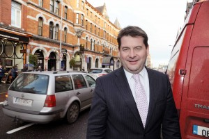 Minister of State at the Departments of the Taoiseach and Foreign Affairs with Special Responsibility for European Affairs and Data Protection Dara Murphy who is launching his re-election campaign on Friday night at the Kinglsey Hotel. Photo: Billy macGill