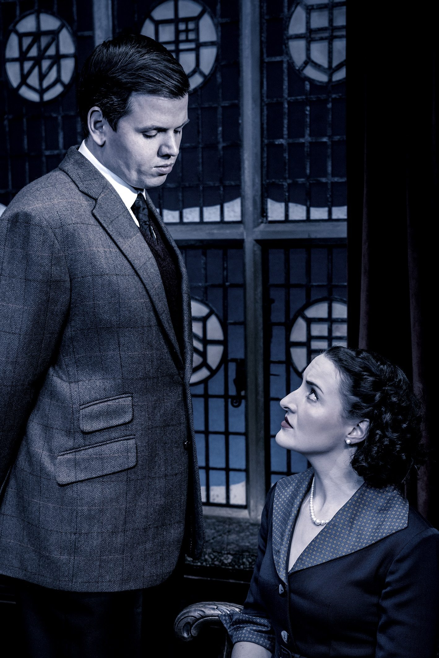 Martin Allanson and Edith Kirkwood in The Mousetrap 2020 UK tour. Credit Johan Persson.jpg
