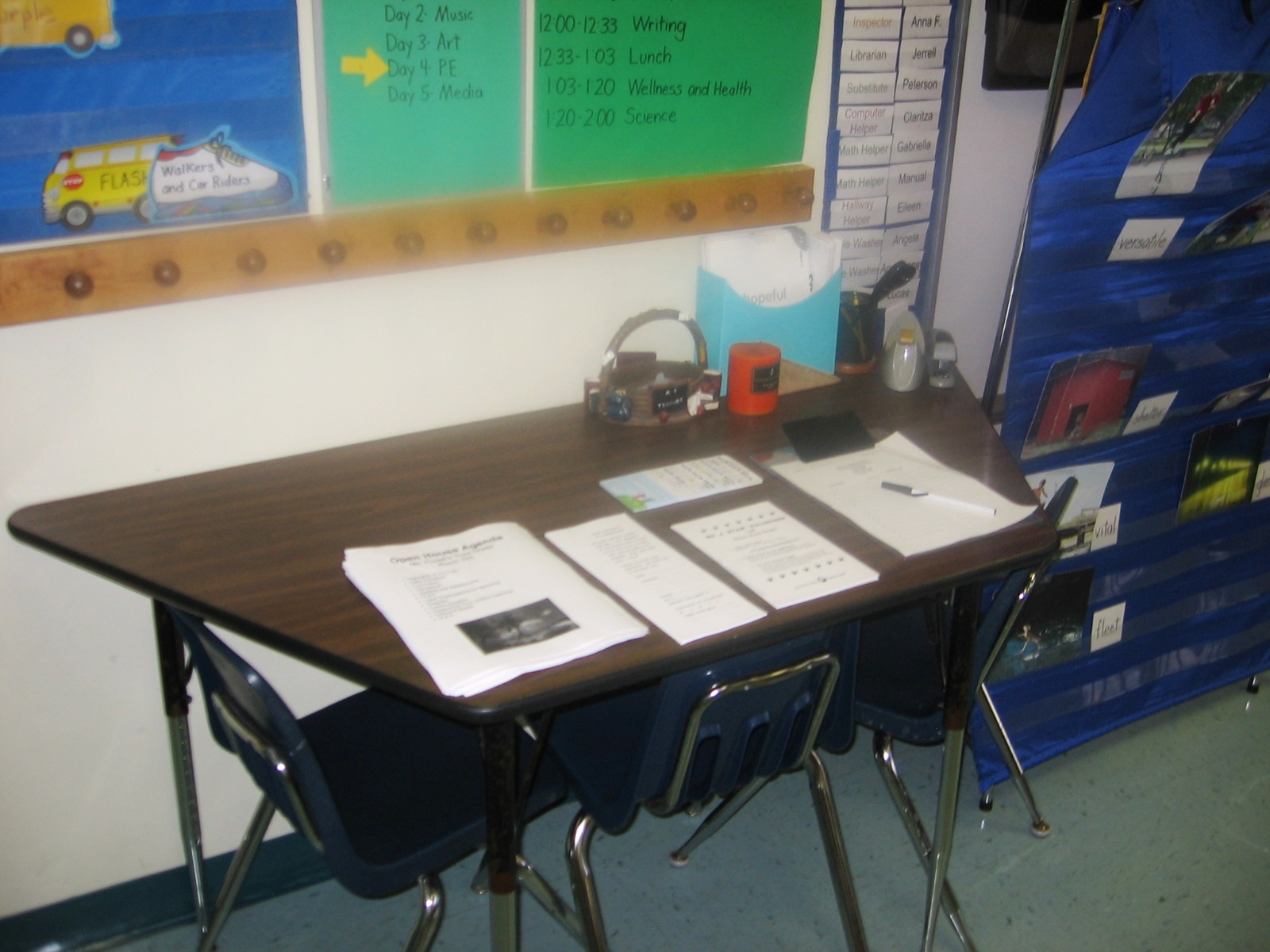 Tips For Open House And Back To School Night