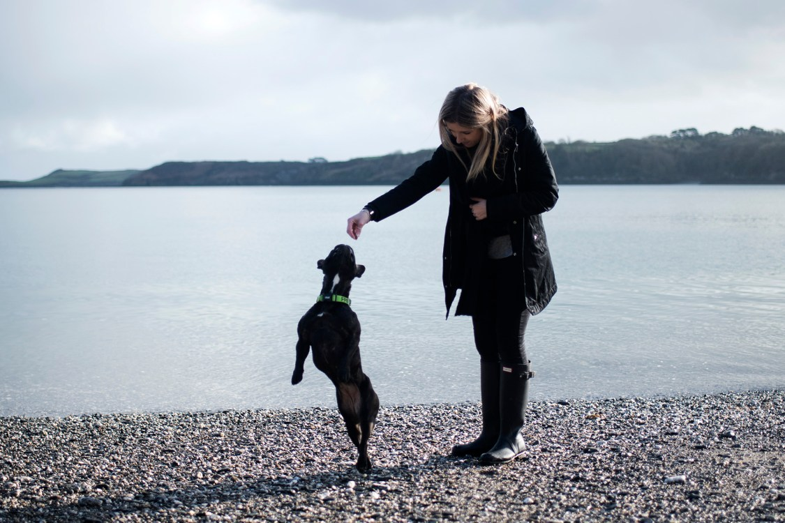 Anna and Pepper Photographing Your Pet | The Cornish Dog