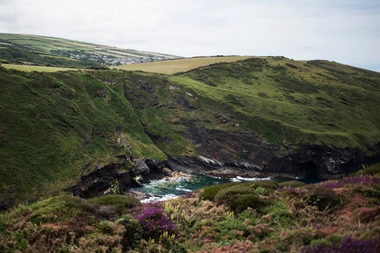 Beeny Cliff near Boscastle   The Cornish Dog