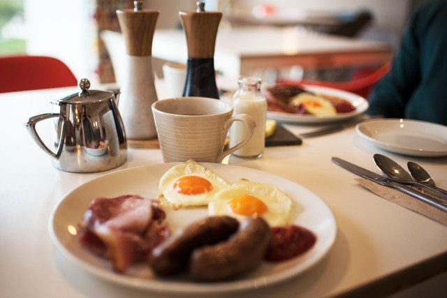 Breakfast at the Wild Cafe | The Cornish Dog
