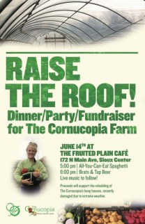 Help us raise the roof at the Fruited Plain