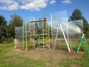 New hoop house construction