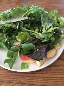 Plate of greens