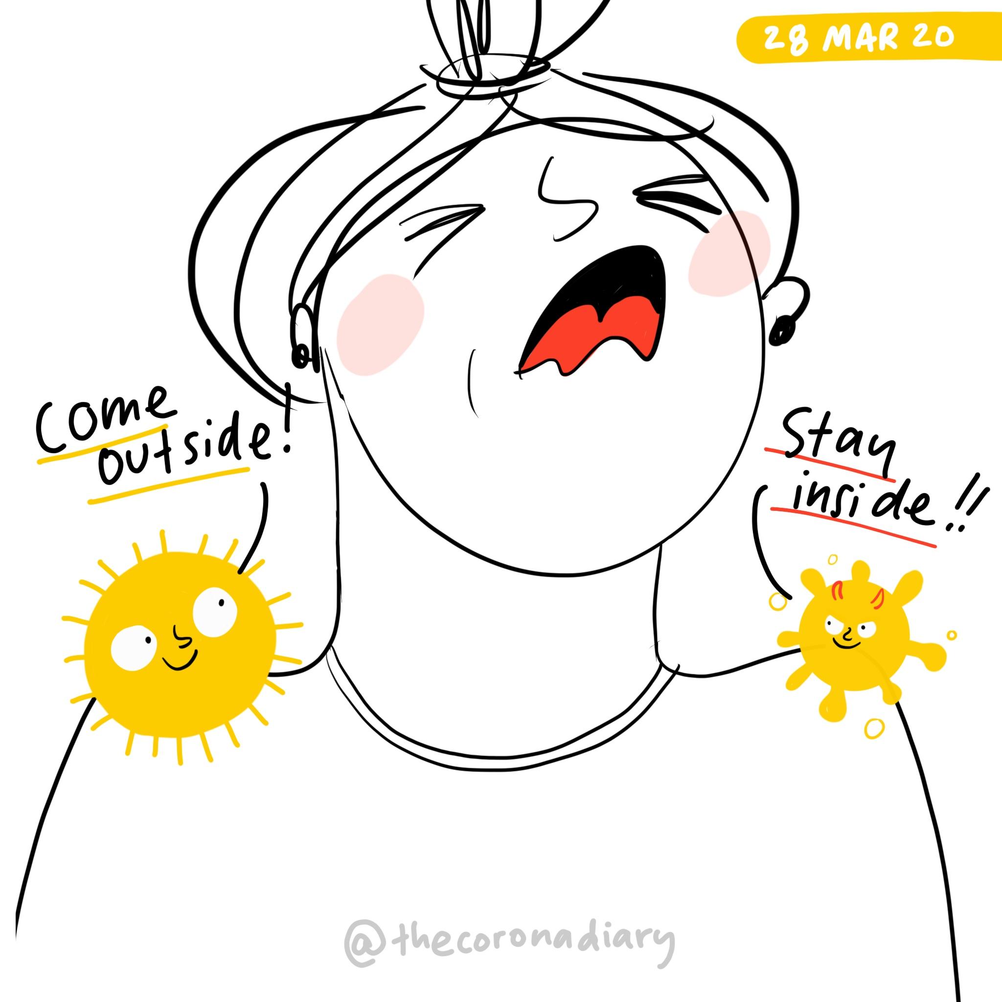 Sun vs. Virus